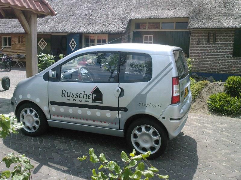 Auto beplakking Rouveen Reclame